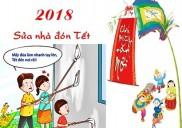 Dịch vụ dọn nhà đón tết Mậu Tuất 2018