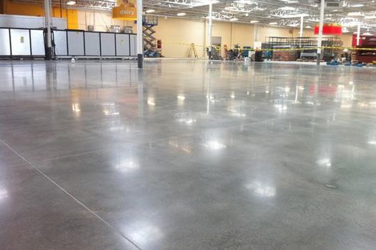 Quy trình phủ bóng sàn bê tông