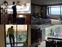 Quy trình vệ sinh nhà cửa của Không Gian Sạch